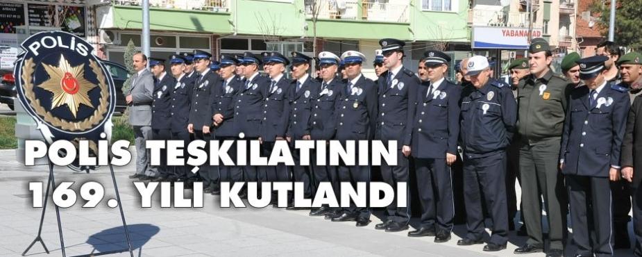 10 NİSAN POLİS HAFTASI TÖRENLE KUTLANDI