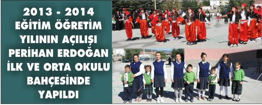 2013 - 2014 EĞİTİM ÖĞRETİM YILI HAYIRLI OLSUN
