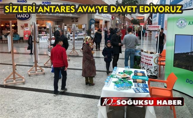 KIZILCAHAMAM TANITIM GÜNLERİ ANTARES AVM'DE BAŞLADI