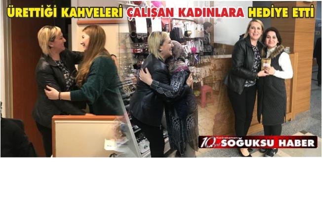 GİRİŞİMCİ KADINDAN KADINLARIMIZA ZİYARET