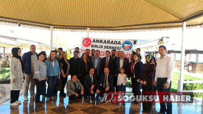 ANKARADA BİRLİK ÇUBUK'TA BİRARAYA GELDİ