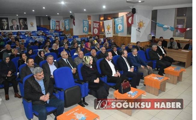 DANIŞMA MECLİSİ TOPLANTISINDA İTTİFAK KONUŞULDU