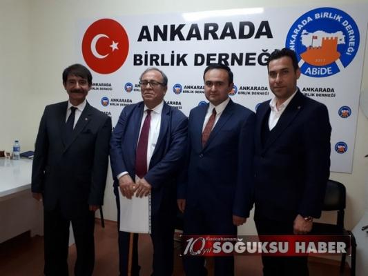 TURGUT ÖZAL ANKARA'DA BİRLİK'TE ANILDI...
