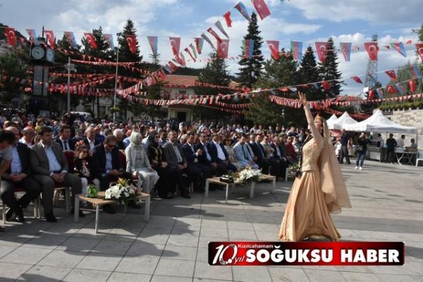 KIZILCAHAMAM'DA AZERBAYCAN COŞKUSU YAŞANDI