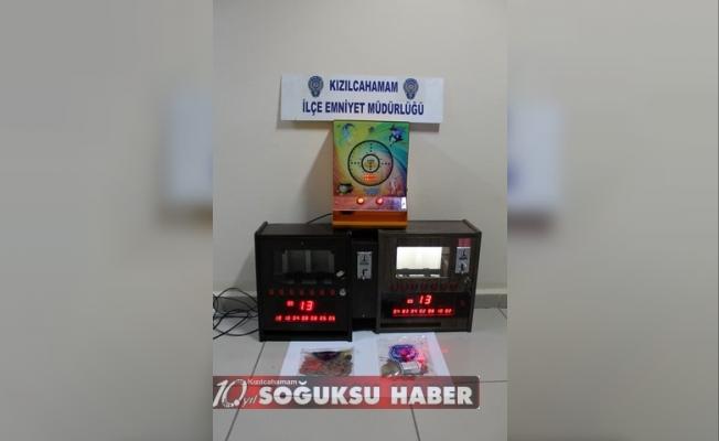 KIZILCAHAMAM'DA HUZUR OPERASYONU YAPILDI