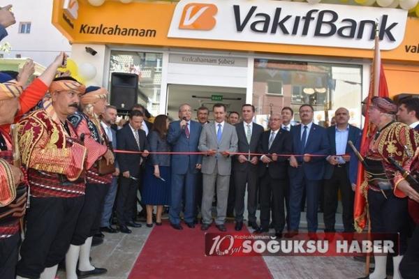 VAKIF BANK AÇILIŞI YAPILDI