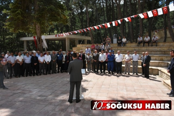 ATATÜRK'ÜN KIZILCAHAMAM'A GELİŞİ KUTLANDI