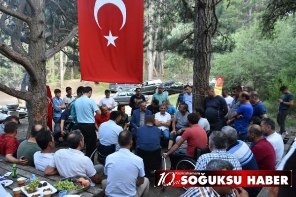 DAĞ KOMANDOLARI SOĞUKSU MİLLİ PARKI'NDA KAMPA GİRDİ