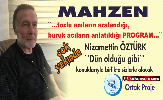 MAHZEN BAŞLIYOR