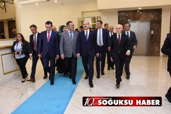 BAKAN SÜLEYMAN SOYLU KIZILCAHAMAM'A GELDİ