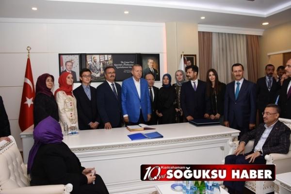 CUMHURBAŞKANIBAŞKAN GÜNEY'İ MAKAMINDA ZİYARET ETTİ