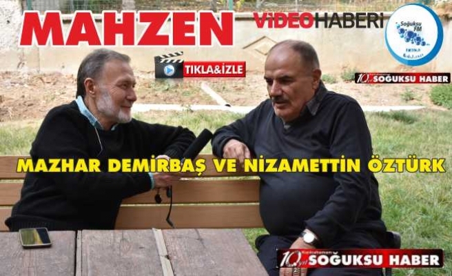 MAHZEN'İN KONUĞU MAZHAR DEMİRBAŞ VİDEO