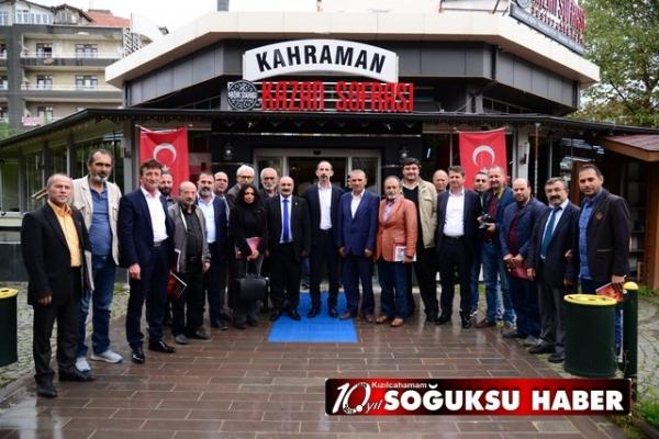 YEREL BASIN KAHRAMANKAZAN'DA BİRARAYA GELDİ