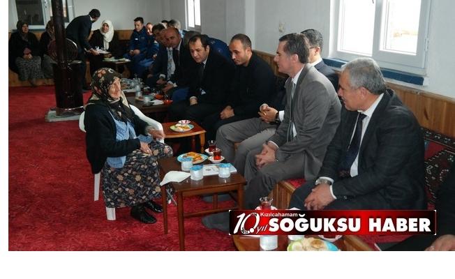 KIZILCAHAMAM'DA MAHALLE TOPLANTILARINA DEVAM EDİLDİ
