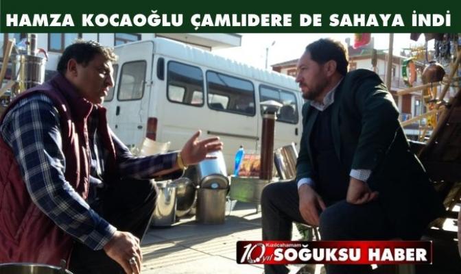 KOCAOĞLU ÇAMLIDERE DE SIKMADIK EL BIRAKMADI