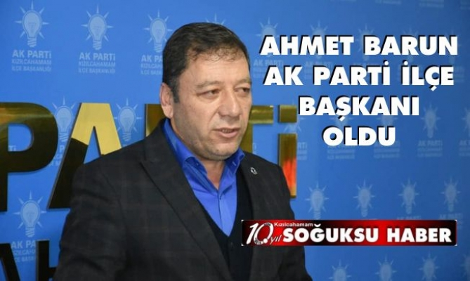 AK PARTİ'YE YENİ ATAMA