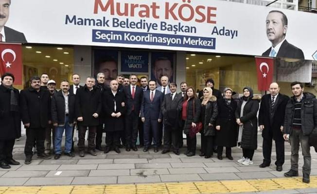 ANKARADA BİRLİK DERNEĞİNDEN MURAT KÖSE'YE DESTEK