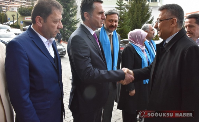 CUMHURBAŞKANI YARDIMCISI FUAT OKTAY KIZILCAHAMAM'A GELDİ