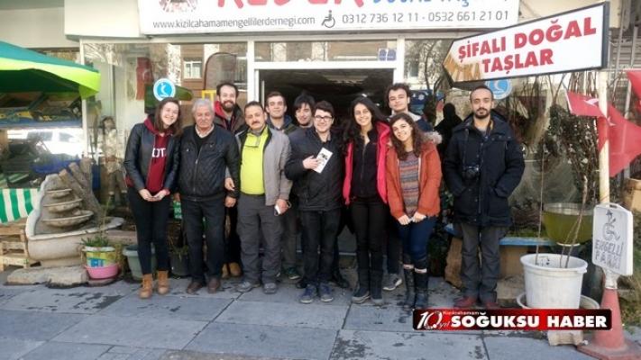 ODTÜ GASTRONOMİ TOPLULUĞU KIZILCAHAMAM'I GEZDİ