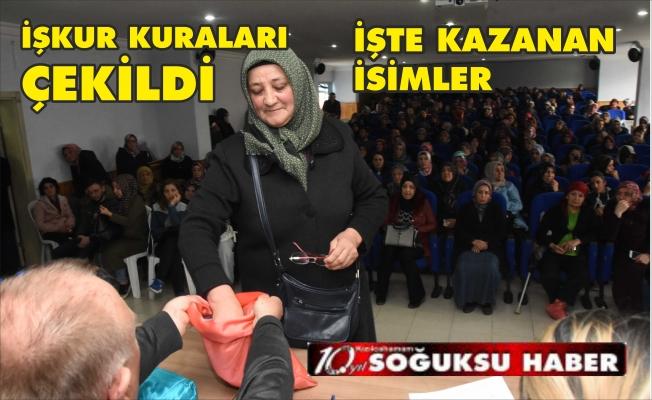 İŞKUR'DAN ÇALIŞACAK 40 KİŞİ BELİRLENDİ