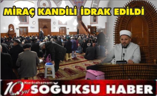 KANDİL ÖZEL PROGRAMI DÜZENLENDİ