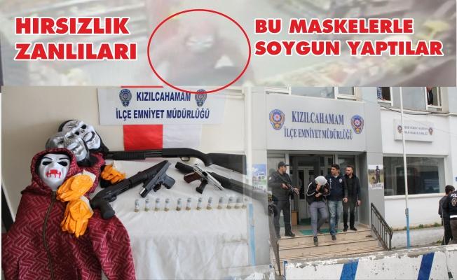 OPET'İ SOYAN SİLAHLI SOYGUNCULAR YAKALANDI.