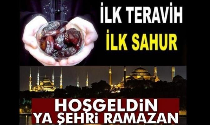 RAMAZAN BAŞLIYOR