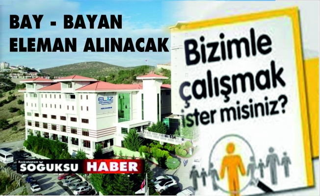 SERVİS ELEMANI ALINACAK