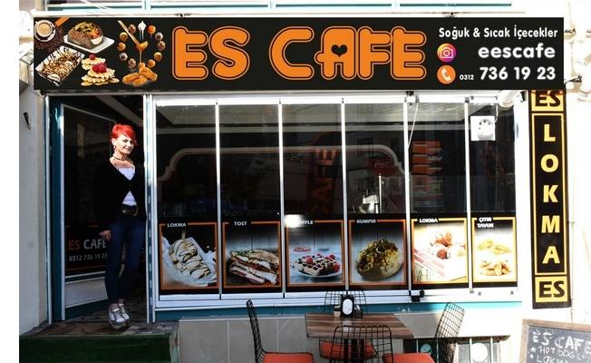 ES CAFE FARKLI LEZZETLER SUNUYOR