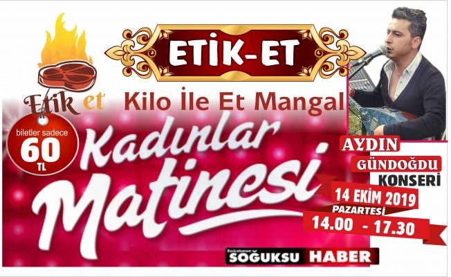 ETİKET'DEN KADINLAR MATİNESİNE