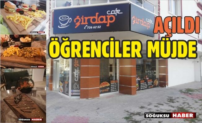 GİRDAP CAFE AÇILDI