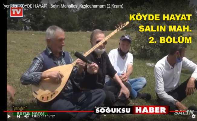 KIZILCAHAMAM TV SALIN MAH. 2. BÖLÜM VİDEO
