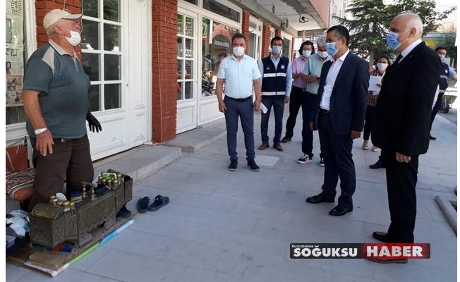 """""""SAĞLIK İÇİN HEPİMİZ İÇİN"""" DENETİMLER YAPILDI"""