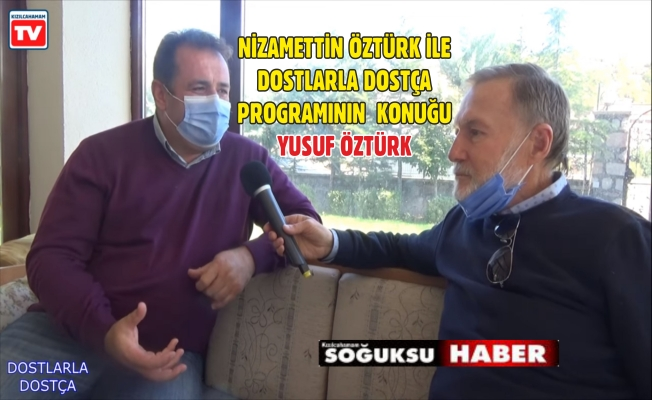 KIZILCAHAMAM TV'DE DOSTÇA SOHBETLER VİDEO