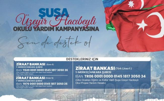 AZERBAYCAN'DAKİ OKUL PROJESİ İÇİN YARDIM KAMPANYASI