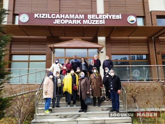 GAZİANTEP'TEN ilçemize KÜLTÜR TURU