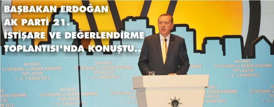 AK PARTİ 21. İSTİŞARE TOPLANTISI BAŞLADI
