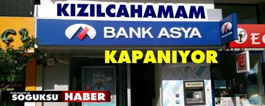 BANK ASYA İLÇEDEN AYRILIYOR