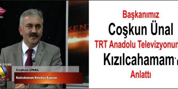 Coşkun Ünal TRT Anadolu Televizyonunda