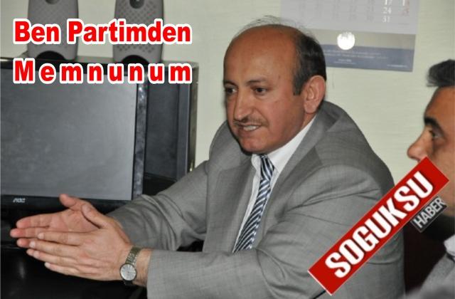 ERDEM'DEN TEŞKİLAT ZİYARETİ