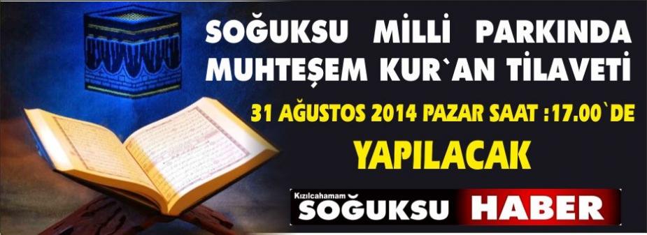 FESTİVALİN YERİNE KUR'AN TİLAVETİ YAPILACAK