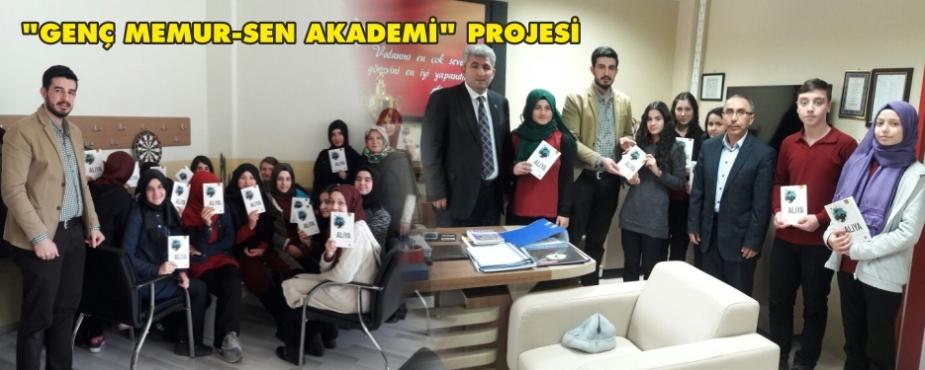 """""""GENÇ MEMUR-SEN AKADEMİ"""" PROJESİ"""