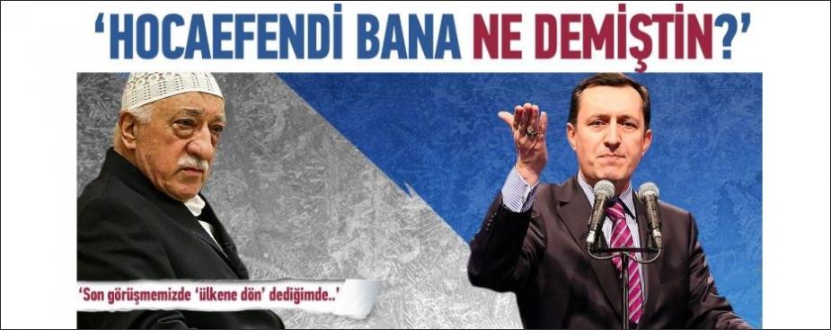 HOCA EFENDİ BANA NE DEMİŞTİN
