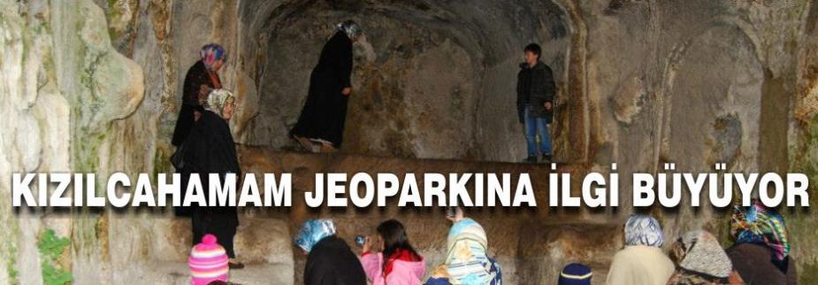 JEOPARK'A İLGİ BÜYÜYOR