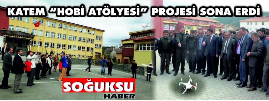 """KATEM """"HOBİ ATÖLYESİ"""" PROJESİ SONA ERDİ"""