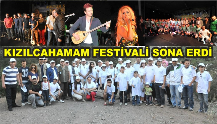 KIZILCAHAMAM'DA FESTİVAL SONA ERDİ