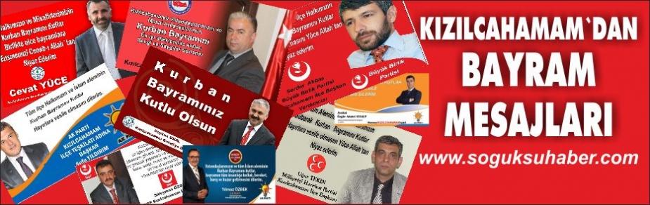 KIZILCAHAMAM'DAN BAYRAM TEBRİĞİ