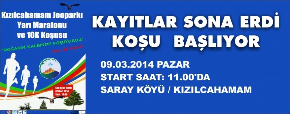 KOŞU PAZAR GÜNÜ SAAT 11.00'DA BAŞLIYOR