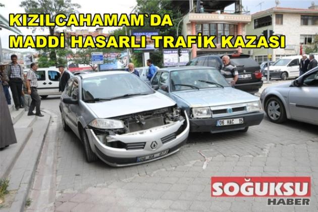 MADDİ HASARLI TRAFİK KAZASI