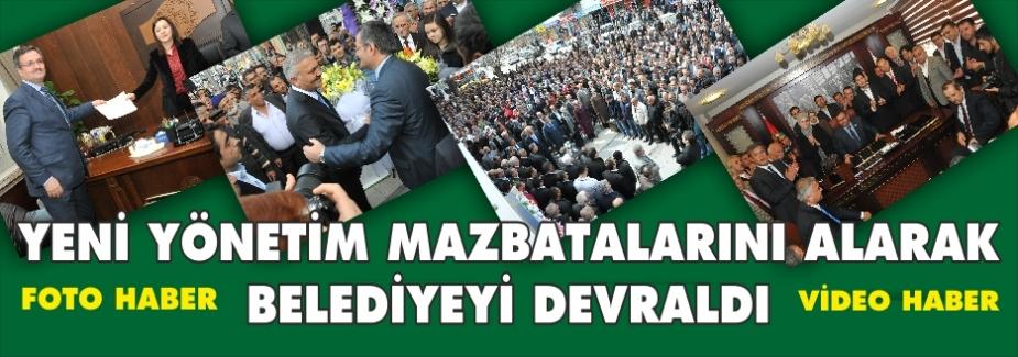 MAZBATA ALINDI BELEDİYE DEVREDİLDİ